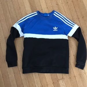 Adidas Originals Boys Trefoil Crew, used